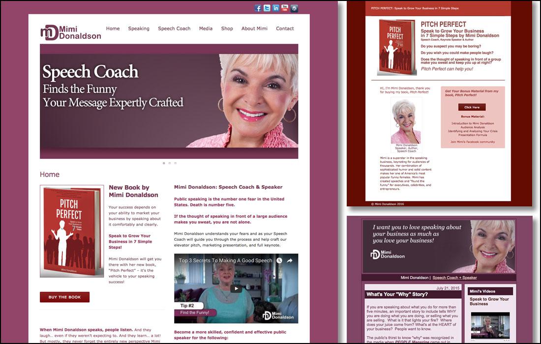 Coach & Keynote Speaker, Mimi Donaldson