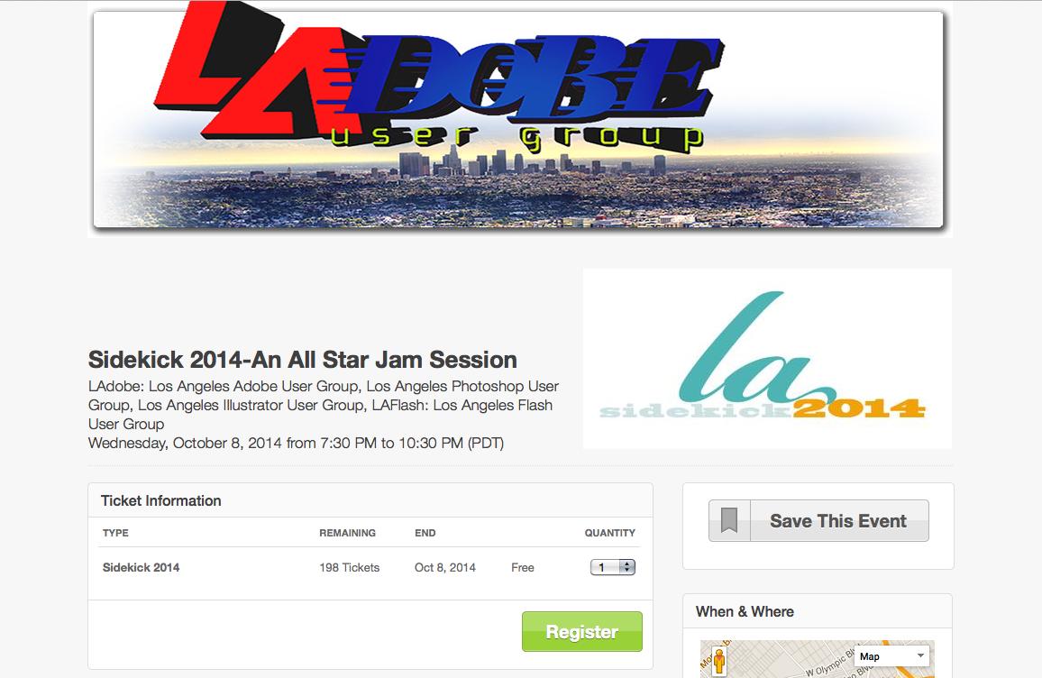 LA adobe sidekick logo 2014 by Jagmedia
